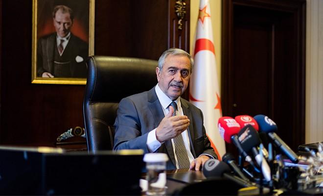 Akıncı Ankara'ya gitti