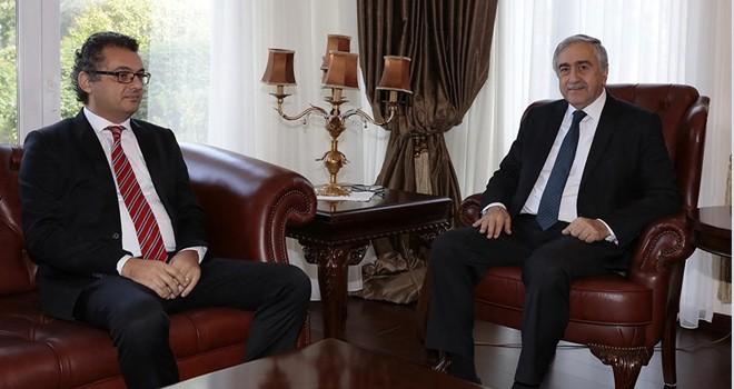 Cumhurbaşkanı Akıncı, Mecliste temsil edilen siyasi parti liderleriyle görüşüyor