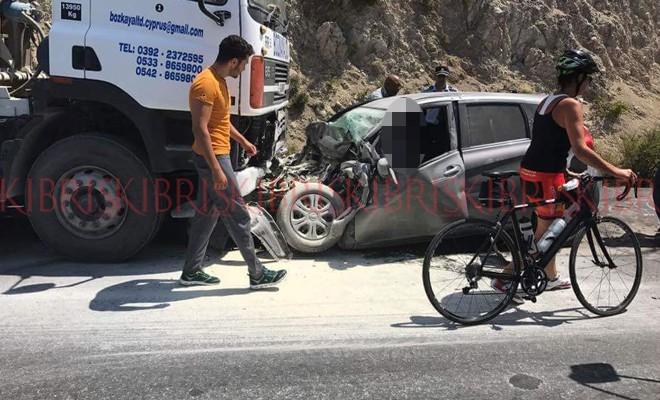 Dağ yolunda feci kaza: 42 yaşında hayatını kaybetti