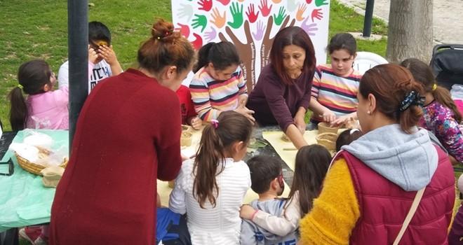 Emekçi Kadınlar Panayırı Girne'de kuruldu