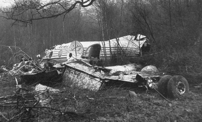 TARİHTE BUGÜN: Londra Antlaşması için Londra'ya giden TC-SEV uçağı düştü