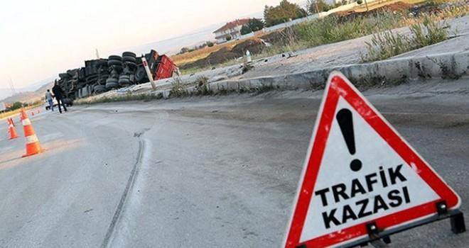 Geçen hafta 81 trafik kazası meydana geldi