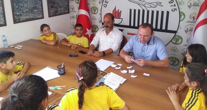 Geçitkale Belediyesi'nde Çocuk Meclisi kuruldu