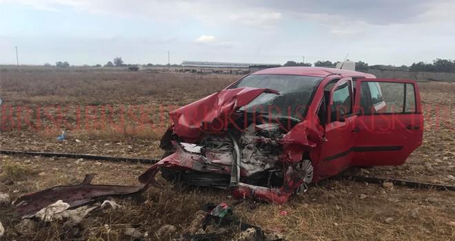 Feci kaza: Bir kişi ağır yaralı