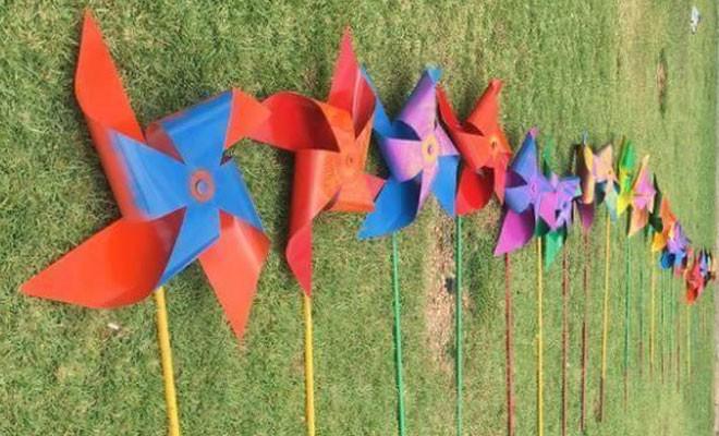 Homofobiye karşı rüzgar gülleri hazır