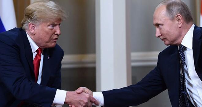 Trump'tan Putin ile görüşme açıklaması