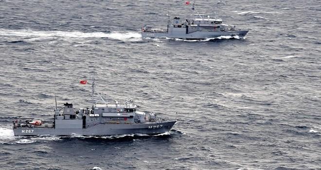 Türk gemilerinin bölgedeki varlığı Rum makamlarını harekete geçirdi