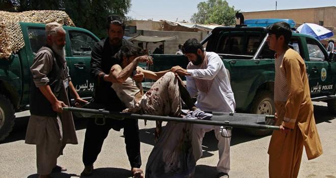 Afganistan'da Taliban saldırısı: 5 ölü, 45 yaralı