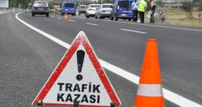 Son bir haftada trafikteki bilanço: 58 kaza,12 yaralı
