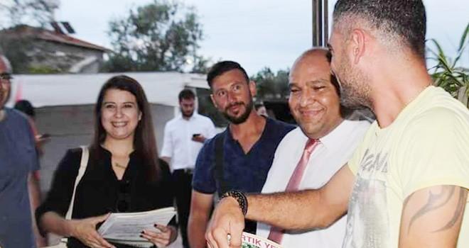Halkın Partisi'nden Beyarmudu ziyareti