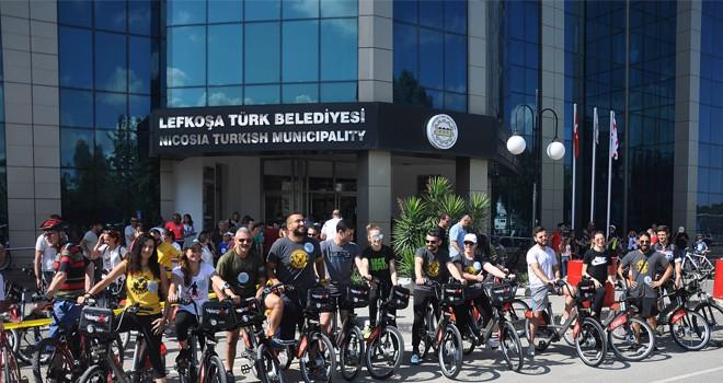 """Tütünsüz Dünya Günü kapsamında Lefkoşa'da """"Velespeed"""" sürüşü"""