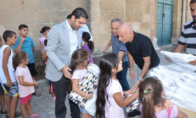 Sağlıkçılardan Lefkoşa Surlariçi'ne bayram ziyareti