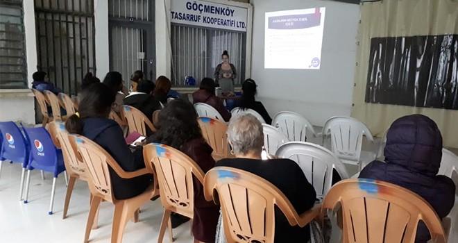 """""""Medya ve Kadın"""" semineri düzenlendi"""