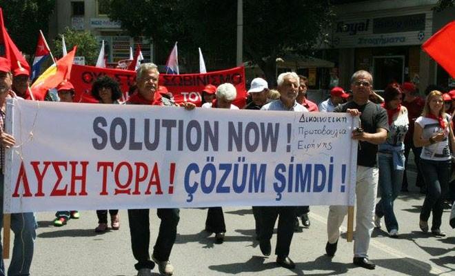 İki toplumlu yürüyüşte çözüm talebi dile getirilecek