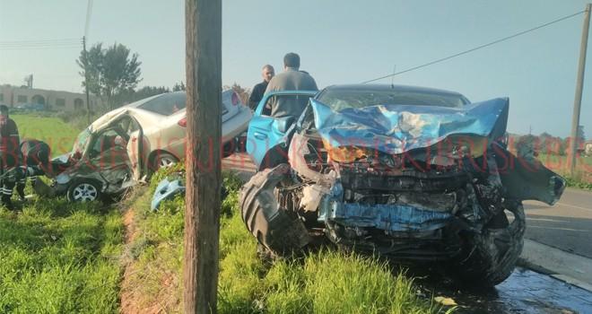 Yeşilköy'de feci kaza: 1 kişi ağır yaralandı