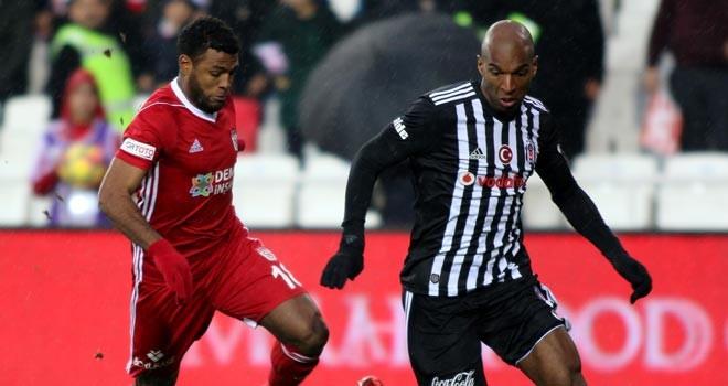 Beşiktaş, Sivas'ta dondu: 2-1