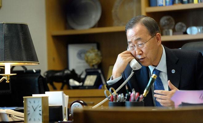 BM Genel Sekreteri Ban liderleri arayacak
