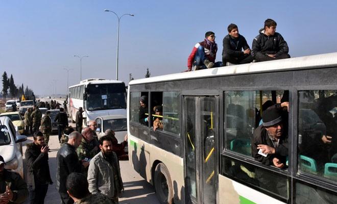 Doğu Halep'ten tahliye tamamlandı