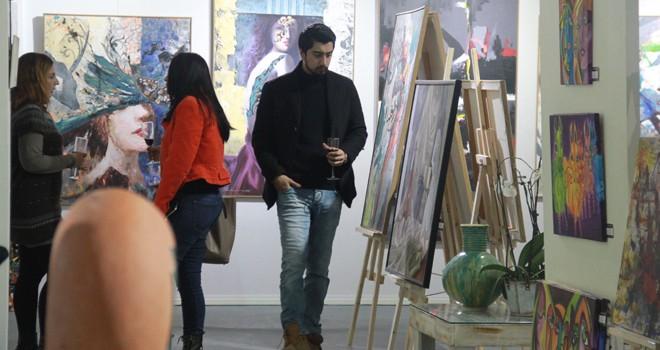 Sanat eserleri, 'Sanat Fuarı'nda buluştu