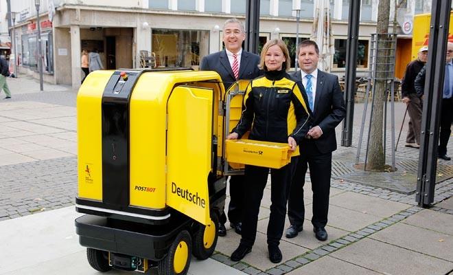 Robot postacı Almanya'da kullanılmaya başlandı