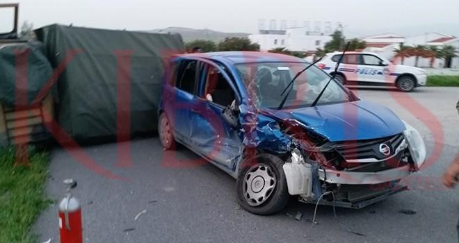 Güzelyurt yolunda kaza: 10 yaralı