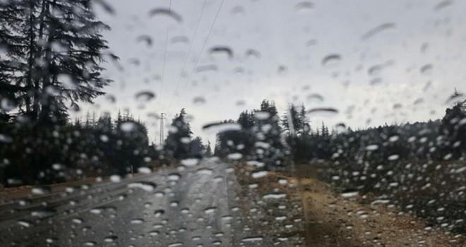 Ercan'da metrekarekeye 39 kg yağmur yağdı