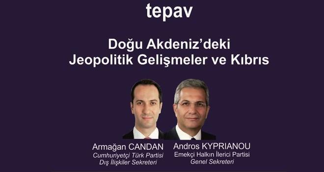 Kiprianu ve Candan Ankara'da konuştu