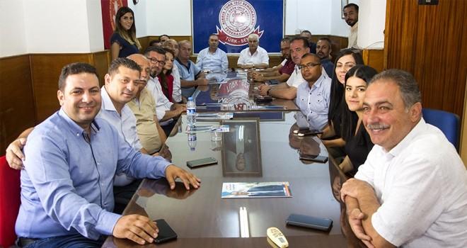 Sertoğlu Türk-Sen'i ziyaret etti