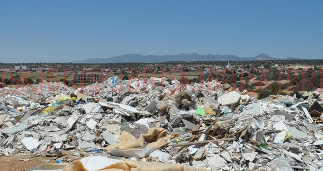 Turizm bölgesi değil çöplük alanı