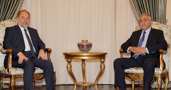 Cumhurbaşkanı Akıncı, TC Başbakan Yardımcısı Akdağ'ı kabul etti