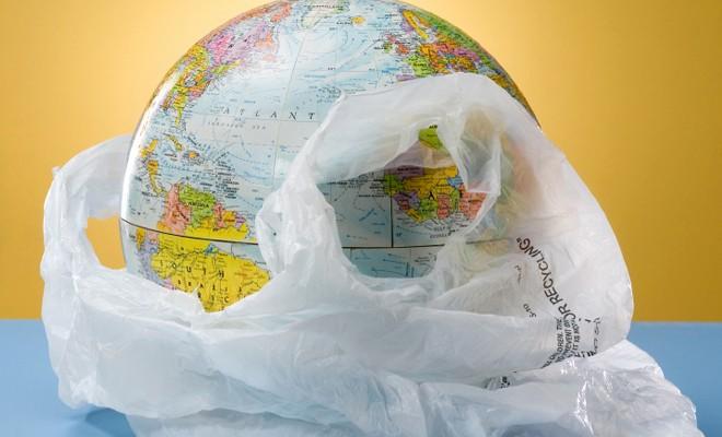 ''Naylon poşet kullanmaya son ver Dünya'nı kurtar''
