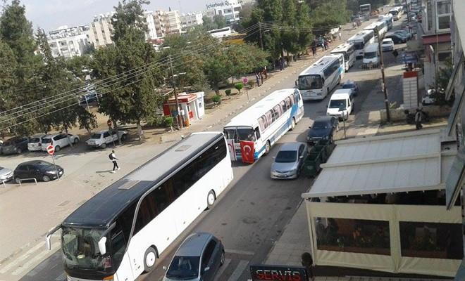 Kar-İş eylemde: Trafikte aksamalar yaşanıyor