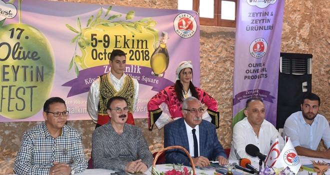 17. Girne Zeytin Festivali Cuma günü başlıyor