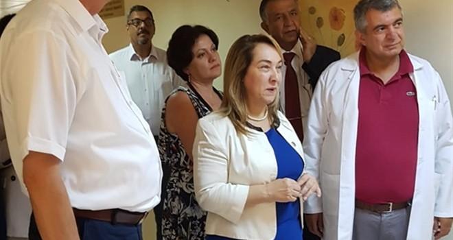 """""""Uzun vadede hedefimiz Girne'ye yeni bir hastane inşa etmek"""""""