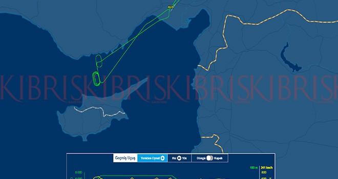 Uçaklar Ercan'a inemedi