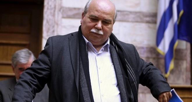 Yunanistan Meclis Başkanı Nikos Vutsis Türkiye'yi eleştirdi