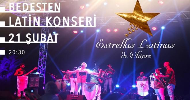 Bedesten'de yarın akşam latin konseri var