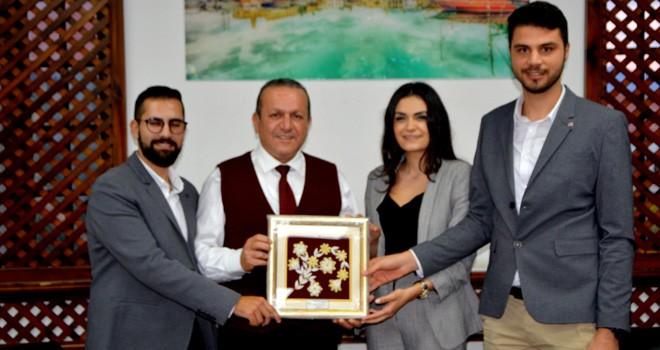 Ataoğlu, Kıbrıs Türk Gençlik Birliği İngiltere heyetini kabul etti