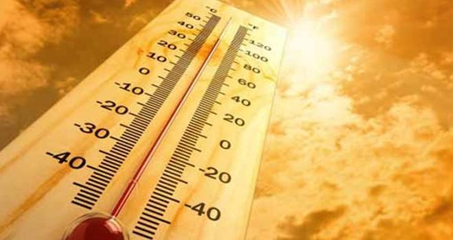 Hafta sonu hava sıcaklığı 40 derece