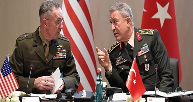 Genelkurmay Başkanı Orgeneral Akar'dan kritik görüşme