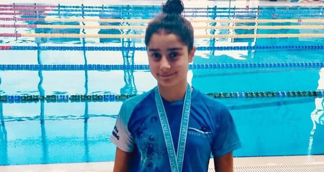Özgül'den Türkiye finallerinde büyük başarı