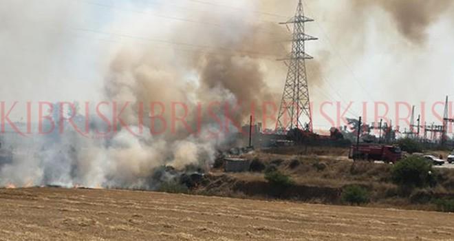 Karakeşliler'de korkutan yangın