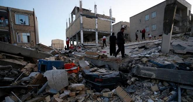 İran-Irak sınırındaki depremde bilanço ağırlaşıyor