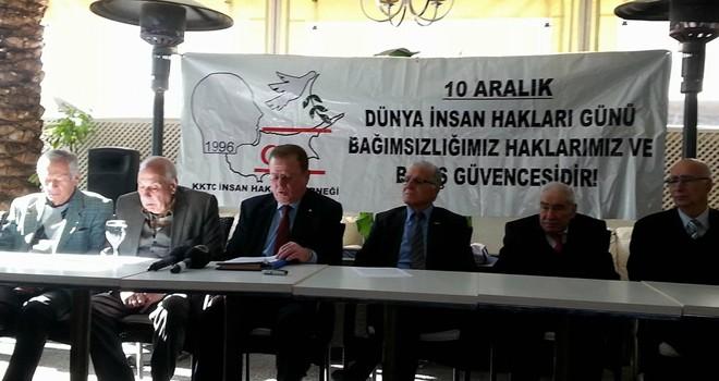 KKTC İnsan Hakları Derneği basın toplantısı düzenledi