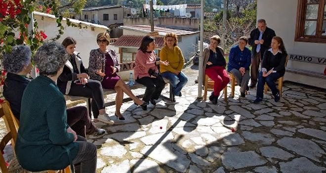 Akıncılar ve Bağlıköy'de çevre düzenlemesi yapıldı