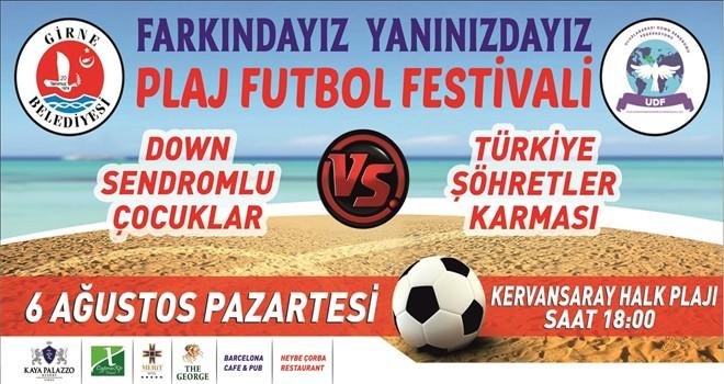 Ünlü futbolcular Girne'de sahaya çıkacak