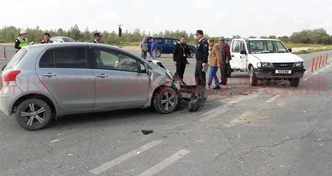 Akıncılar'da kaza: 5 yaralı