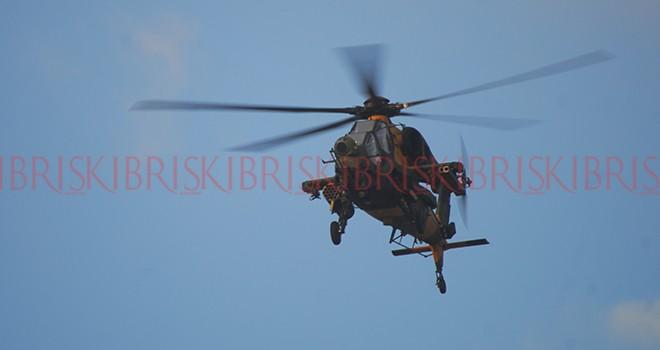 ATAK helikopterleri ilk kez KKTC'de