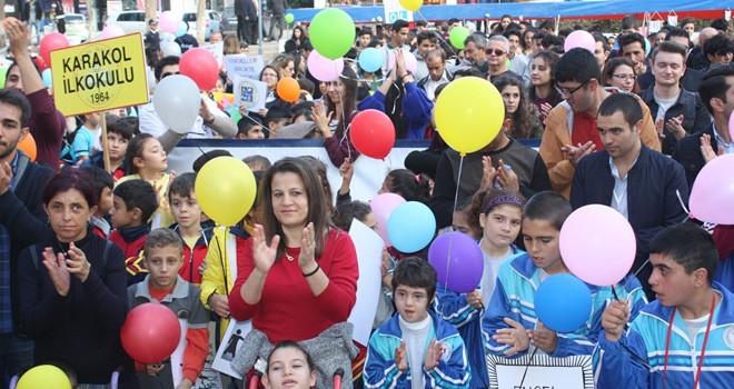 KTÖS, Gazimağusa'da yürüyüş düzenledi