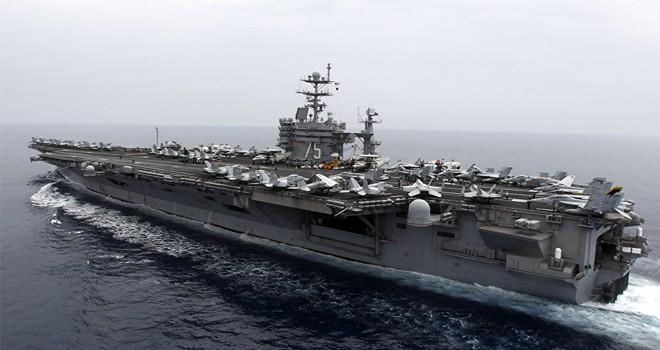 Harry Truman uçak gemisi taarruz grubu Akdeniz'e döndü